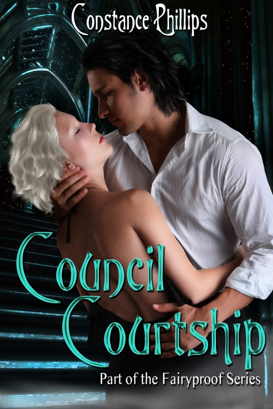 Cover art for Courtship Council by Constance Phillips