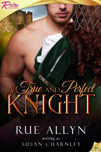Cover art for A True and Perfect Knight
