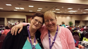 I was tickled to finally meet fellow RomVet author Stacy McKittrick.