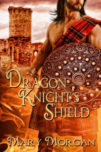 Cover Art for Mary Morgan's Dragon Knight's Shield